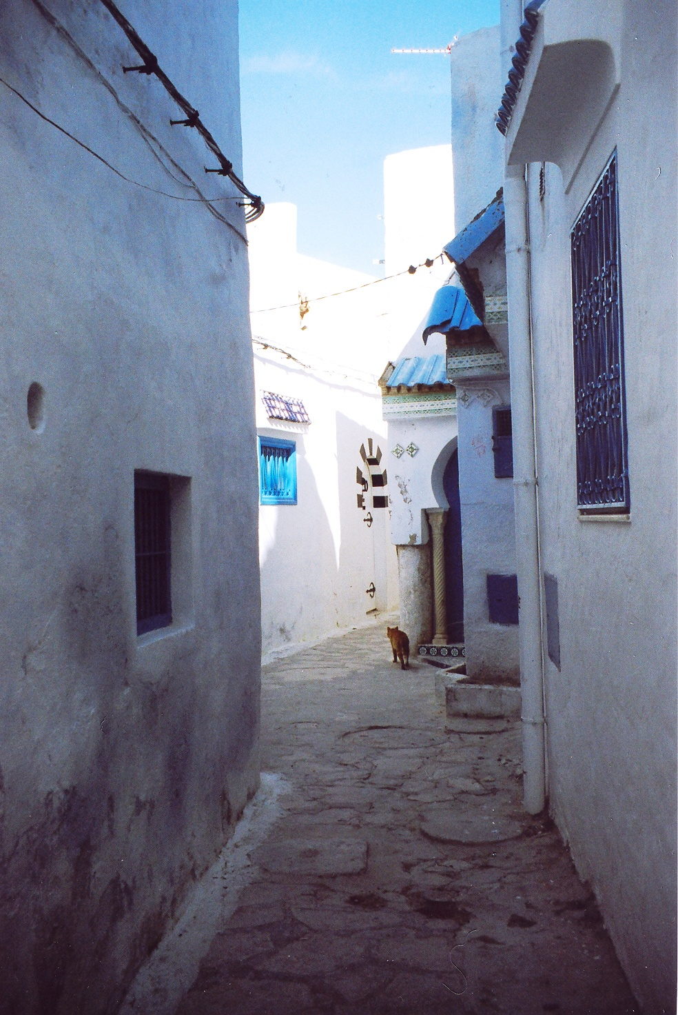 Architecture arabe et andalouse du vieux hammamet for Architecture andalouse