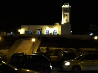 Sidi Bou Said by night