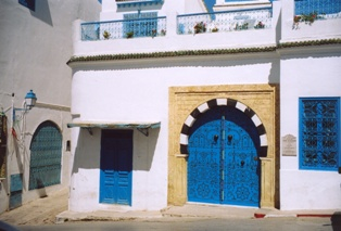Architecture arabe Sidi Bou Said