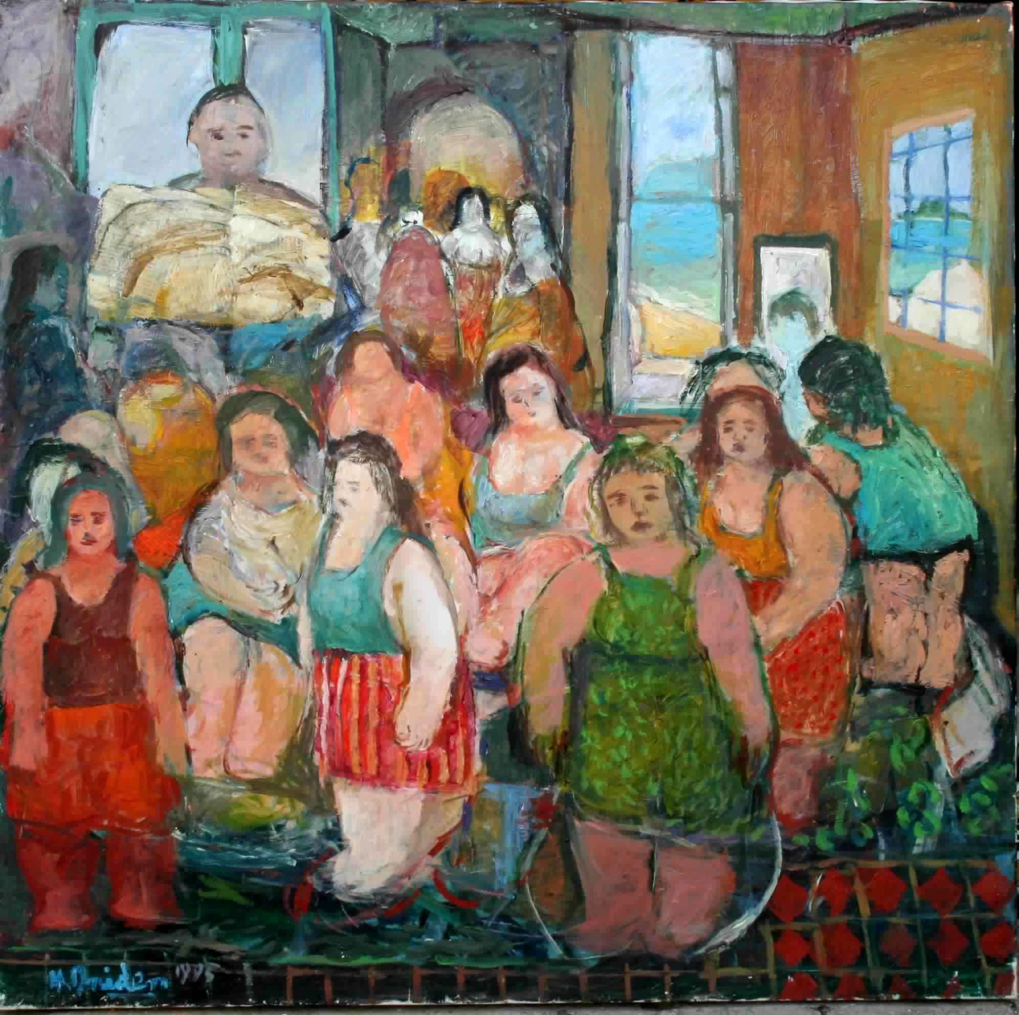 Peintre Contemporain Célèbre Vivant artistes peintres tunisiens